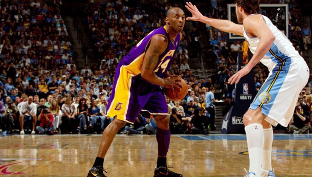 Kobe e Danilo in una sfida tra Lakers e Nuggets