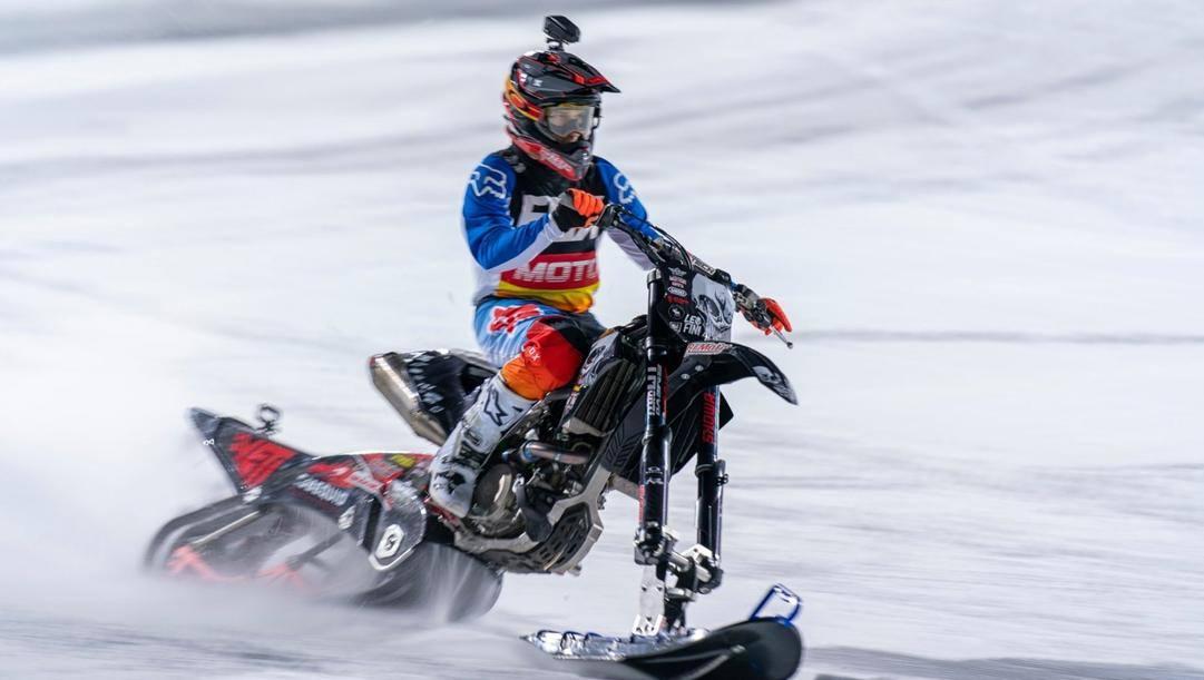Leonardo Fini, 33 anni, in azione ad Aspen