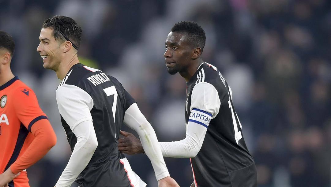 Cristiano Ronaldo e Blaise Matuidi