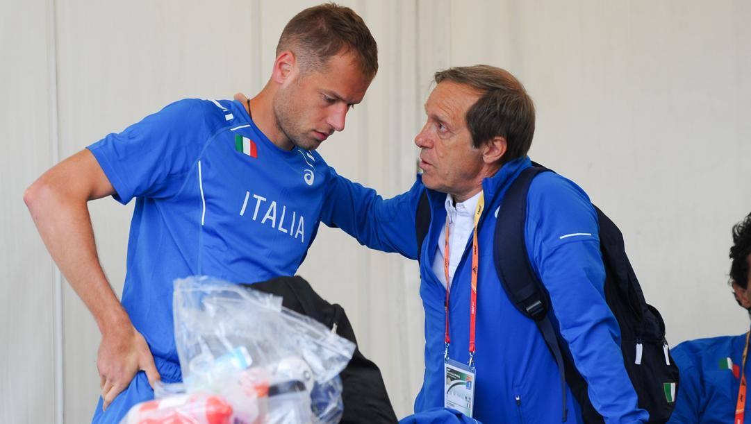 Alex Schwazer, 35 anni. con il tecnico Sandro Donati, 72 IPP