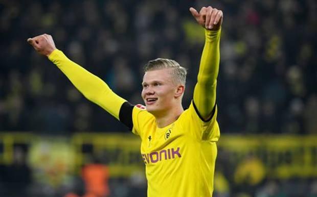 Erling Haaland, 19 anni, dal Salisburgo al Borussia Dortmund. Afp