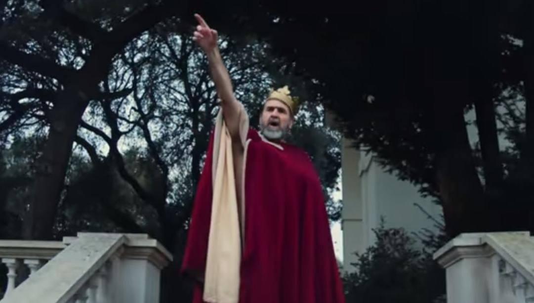 Eric Cantona nel video di Liam Galagher