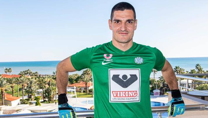 Vito Mannone, 31 anni, nuovo acquisto dell'Esbjerg