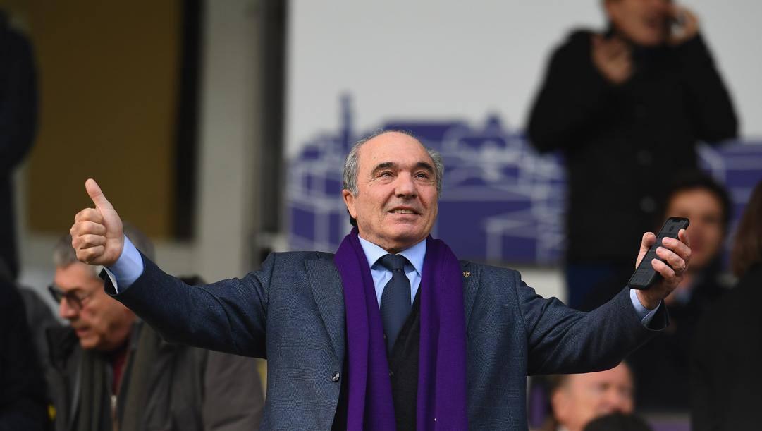 Rocco Commisso, 70 anni, patron della Fiorentina. Getty