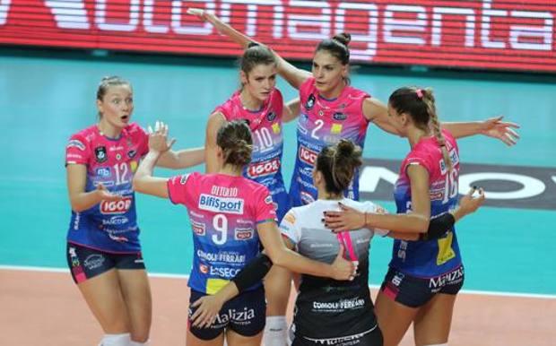 Novara impegnata in Champions