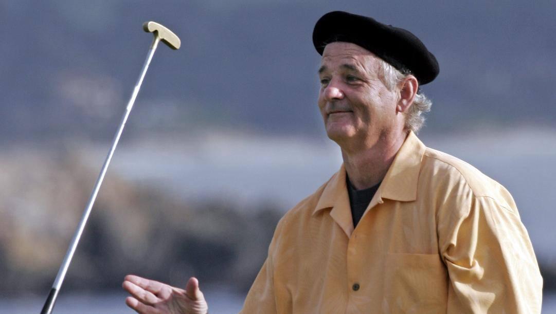 Bill Murray, attore e appassionato golfista