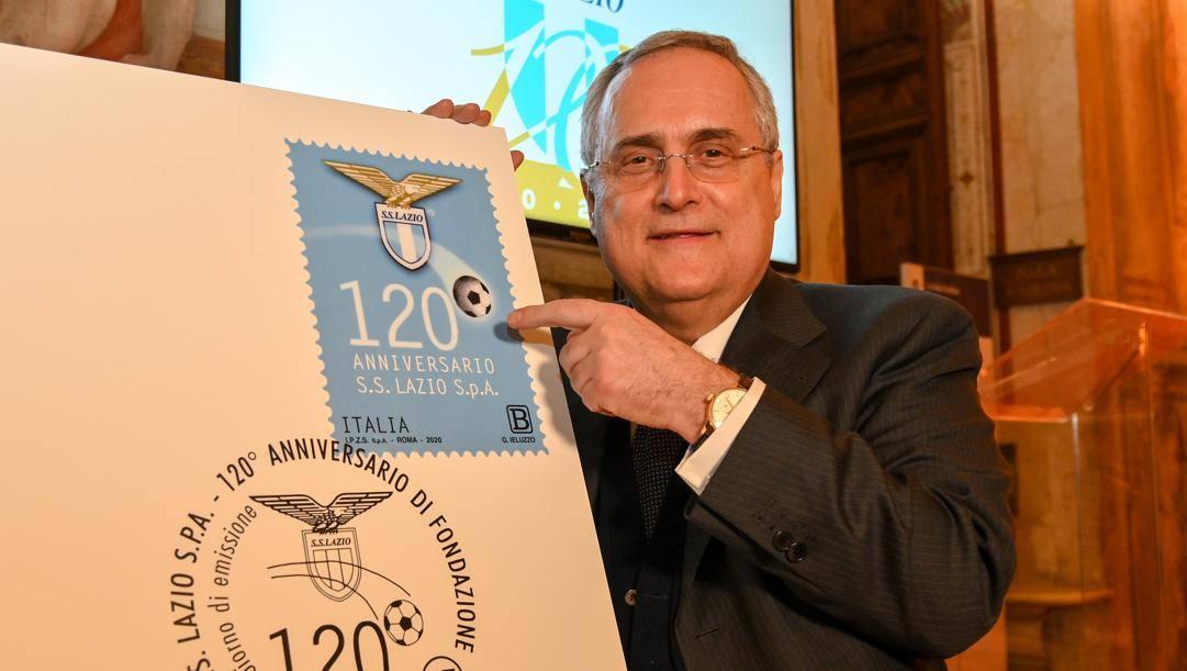 Claudio Lotito, 62 anni, presidente della Lazio. Getty