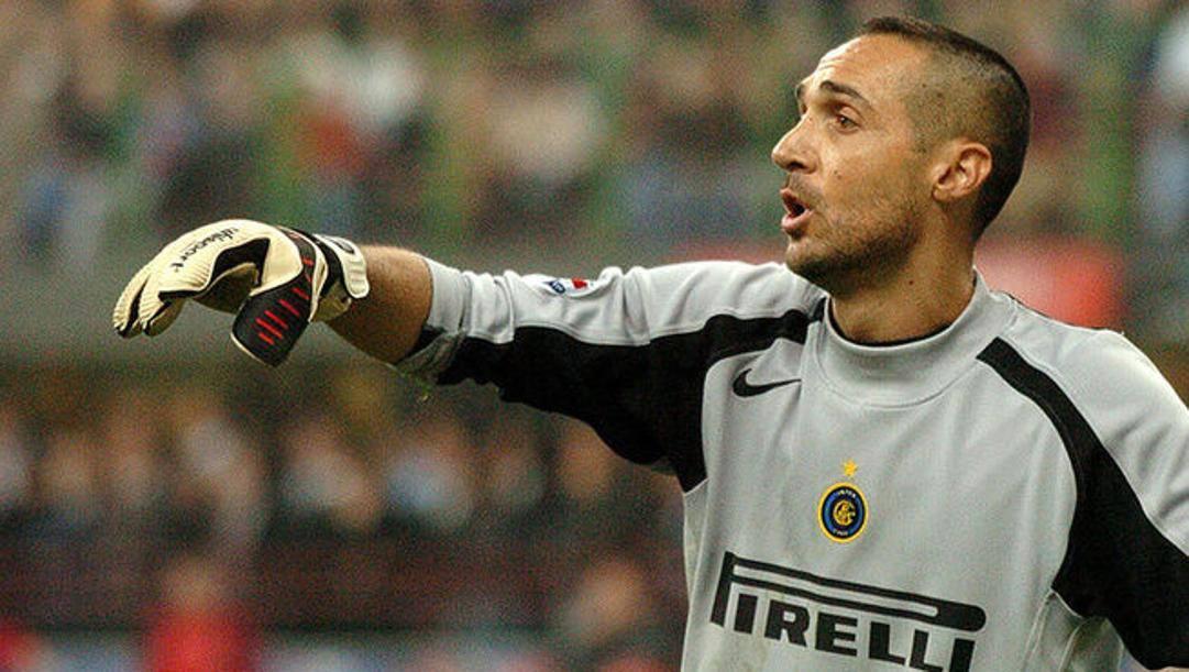 Alberto Fontana, portiere dell'Inter. Lapresse