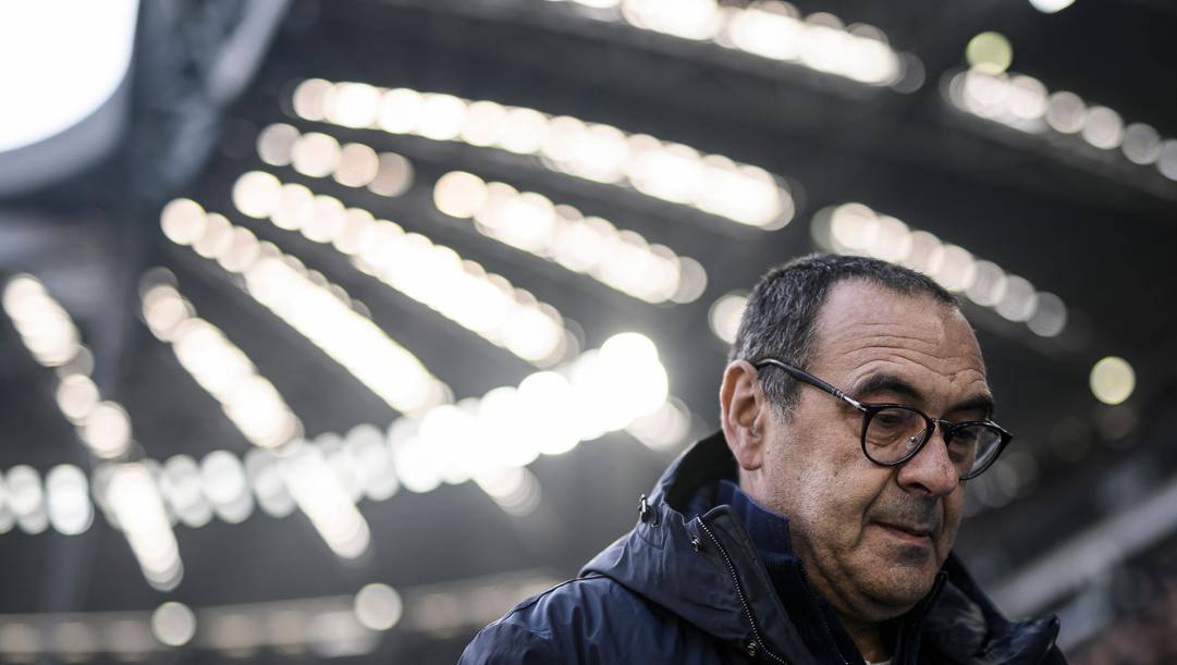 Maurizio Sarri, 61 anni. Afp