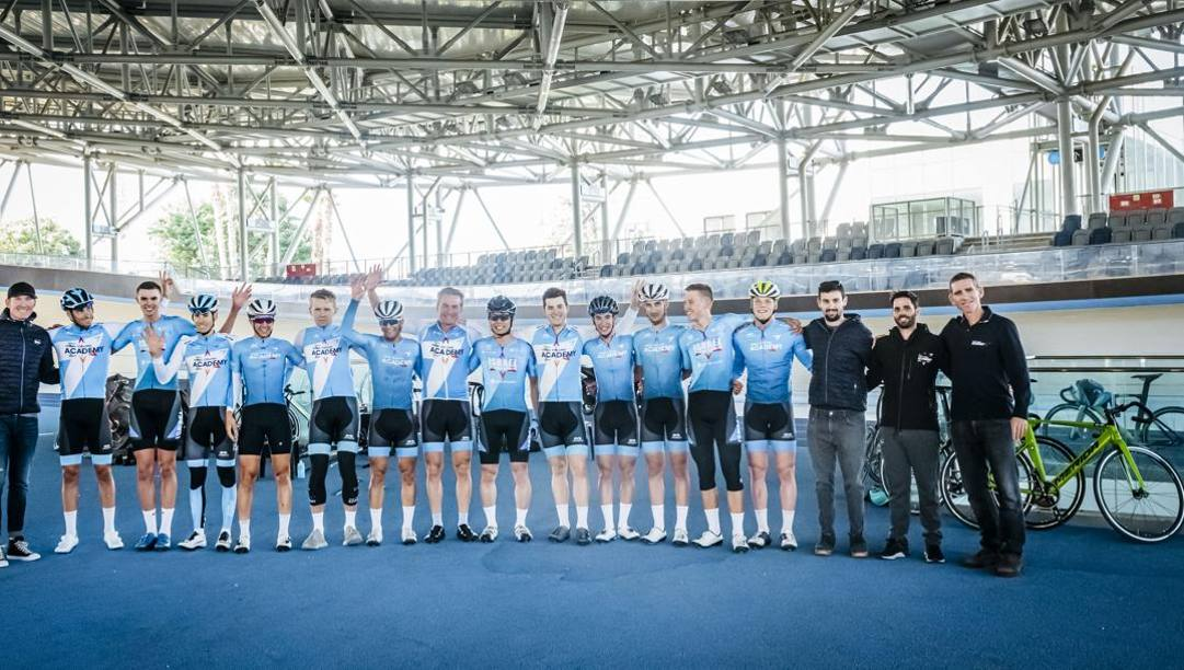 La Israel Cycling Academy, team Continental della squadra World Tour