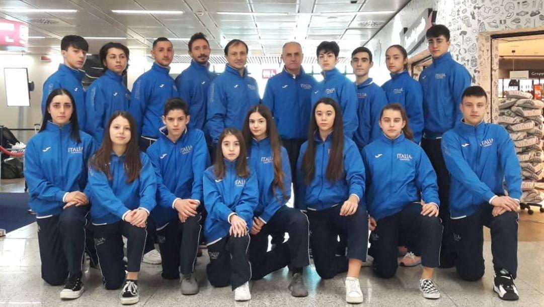 I 18 azzurri che parteciperanno all'Austrian Open