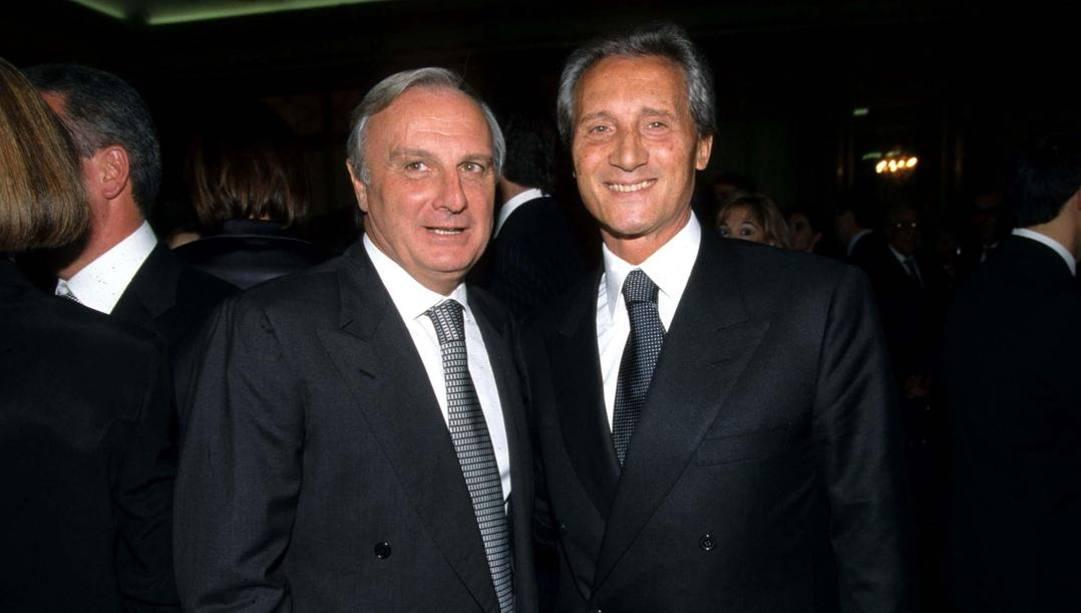 Calisto Tanzi e Sergio Cragnotti.