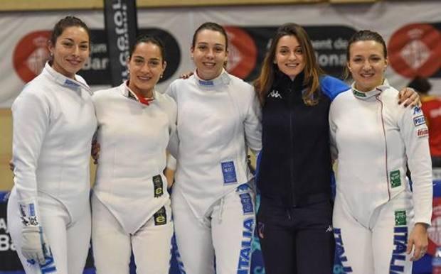 Mara Navarria, Alberta Santuccio, Federica Isola, Rossella Fiamingo, Alice Clerici. Bizzi