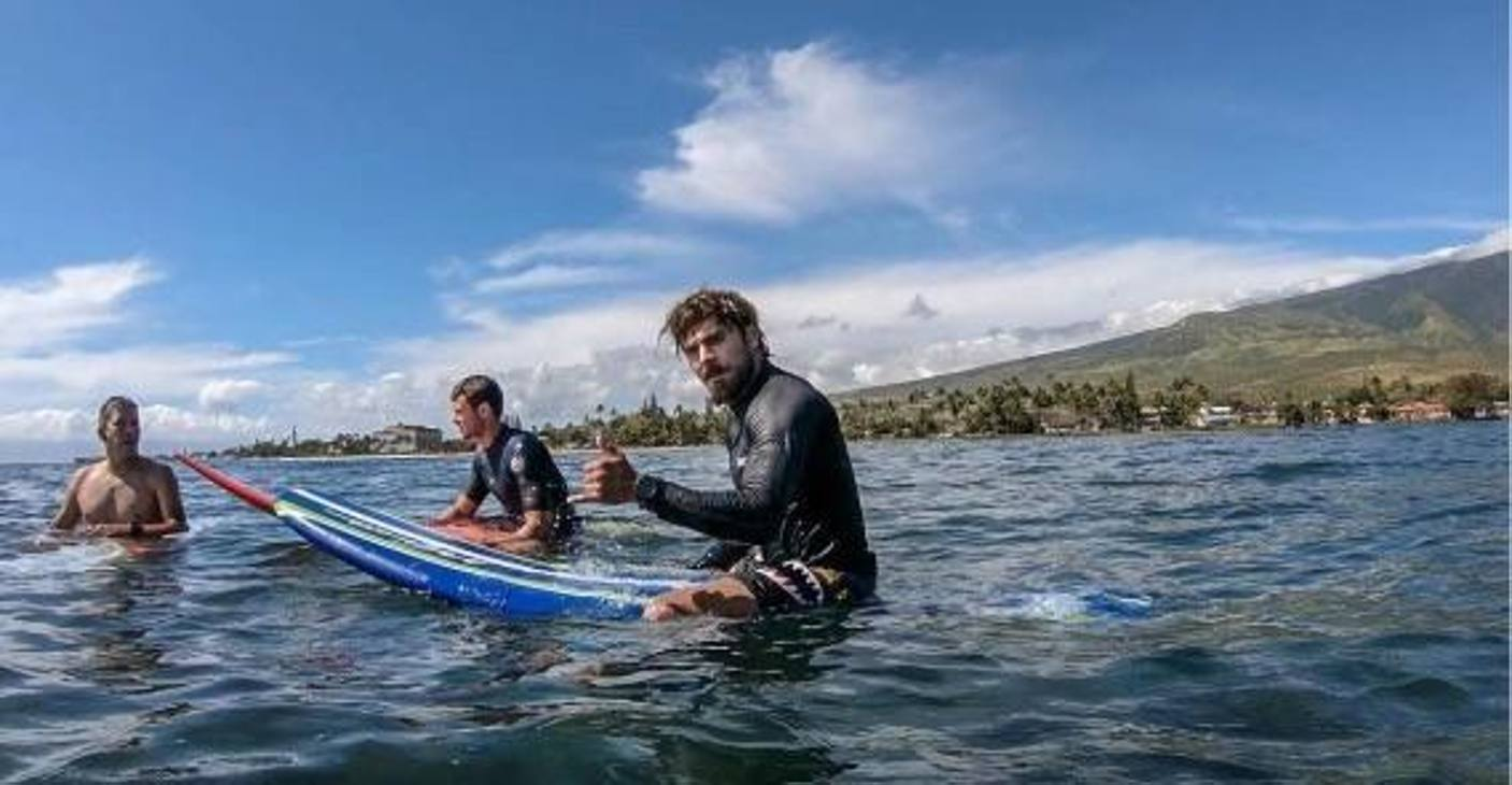 Zac Efron: l'attore è appassionato di surf. Ha partecipato a diverse gare, anche per beneficenza.