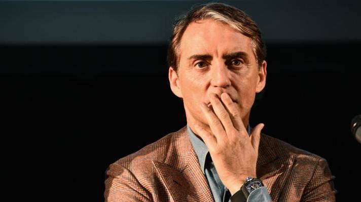 Roberto Mancini, c.t. della Nazionale. Ansa