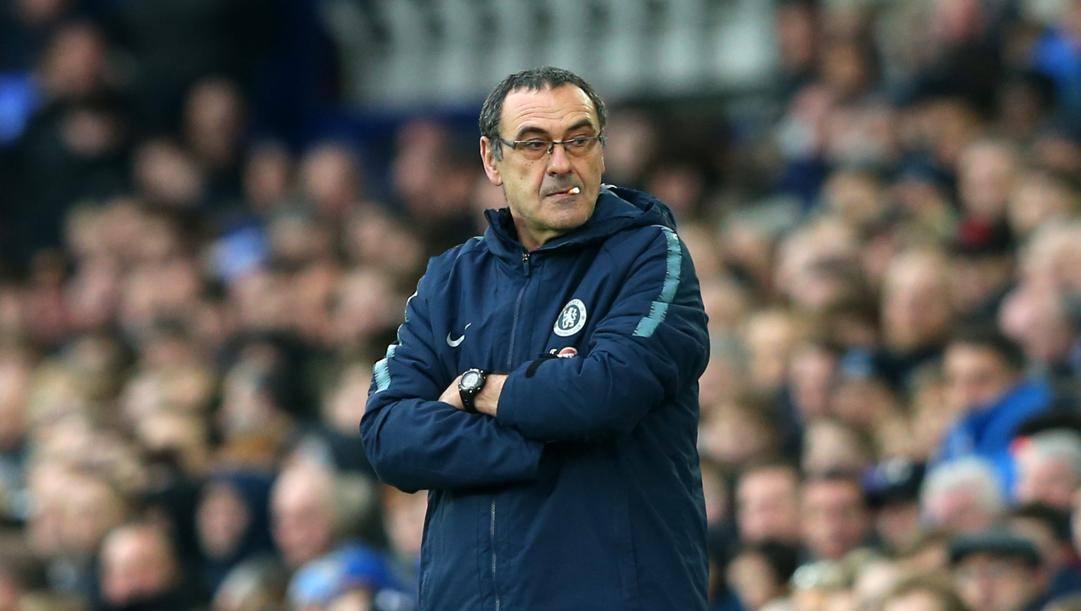 Maurizio Sarri al Chelsea