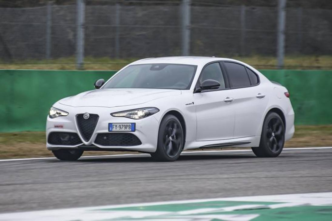 Alfa Romeo Giulia Veloce 2020, prova in pista