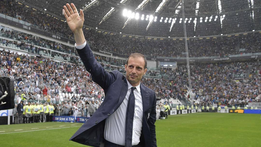 Massimiliano Allegri, 52 anni, ha vinto sei scudetti. Getty