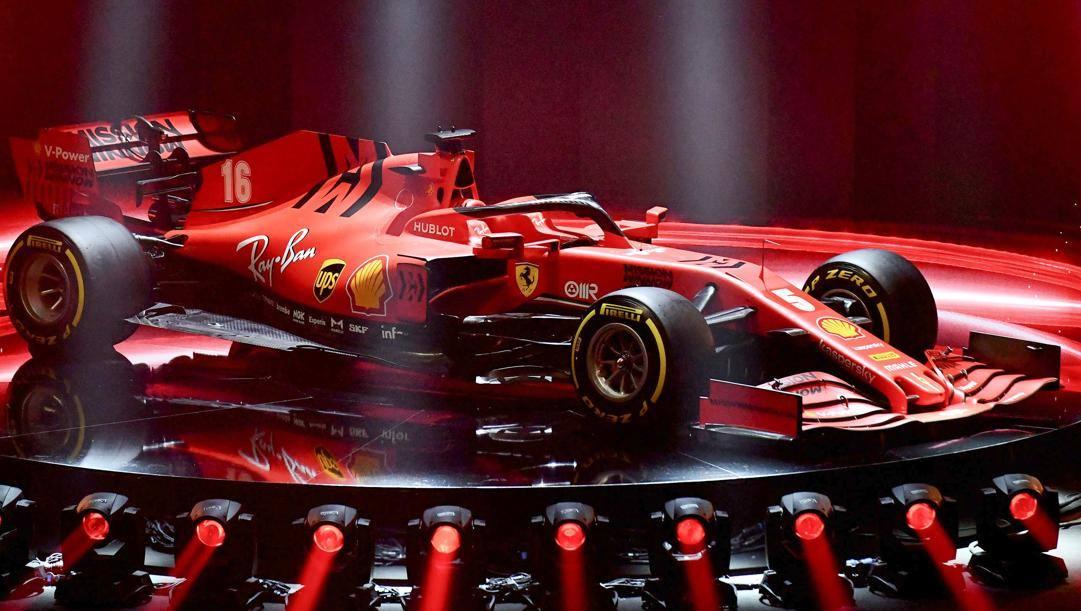 La Ferrari SF1000 per la stagione 2020. Afp