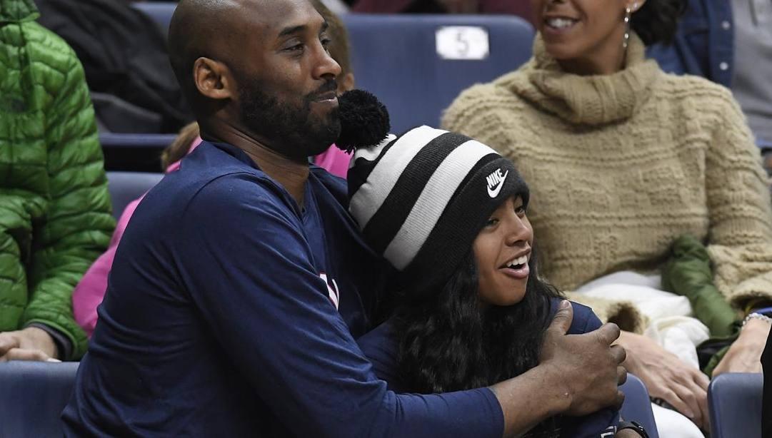 Kobe Bryant e la figlia Gianna