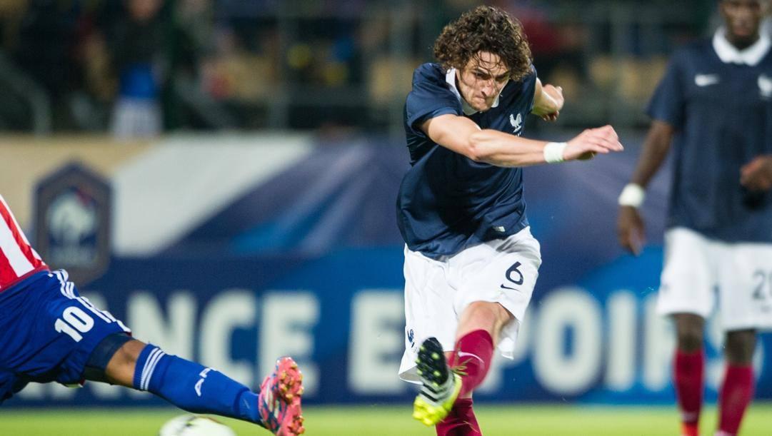 Rabiot ai tempi della Francia Under 21. Afp