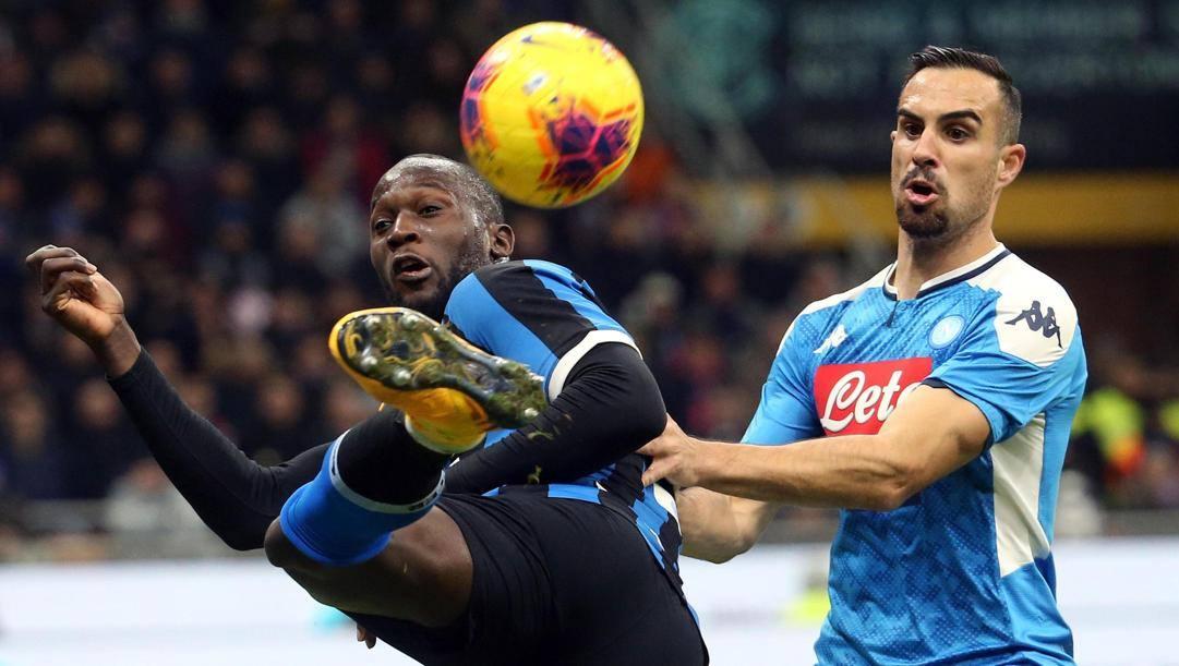 Romelu Lukaku, 26 anni, 31 presenze con l'Inter Ansa