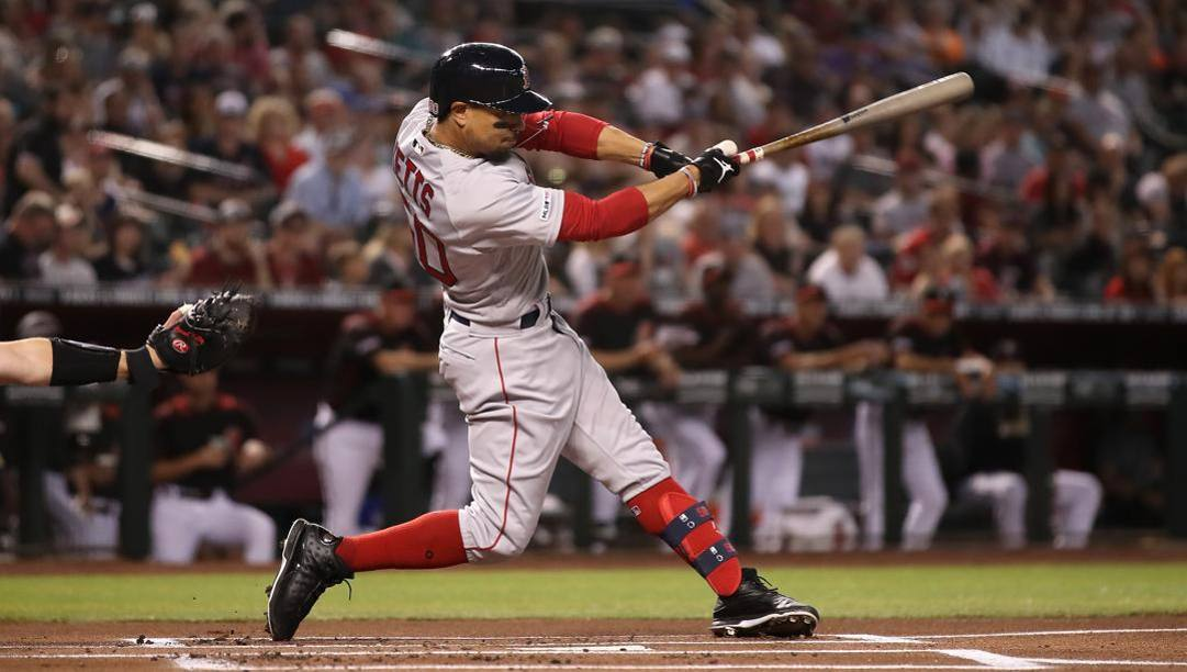 Mookie Betts, 27 anni. Afp