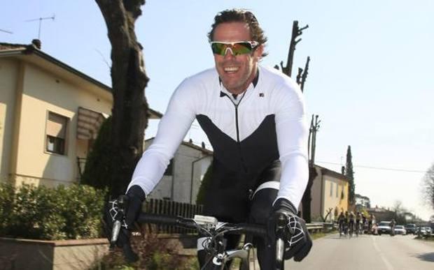 Mario Cipollini, 52 anni. (Bettini)