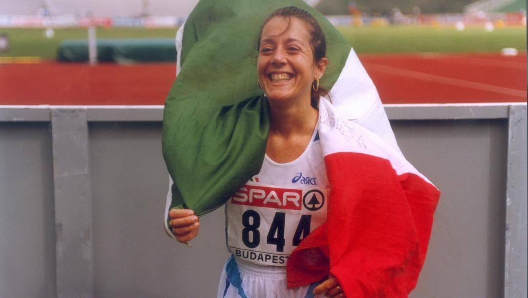 Maura Viceconte, sorella di Simona e bronzo europeo 1998. Bai
