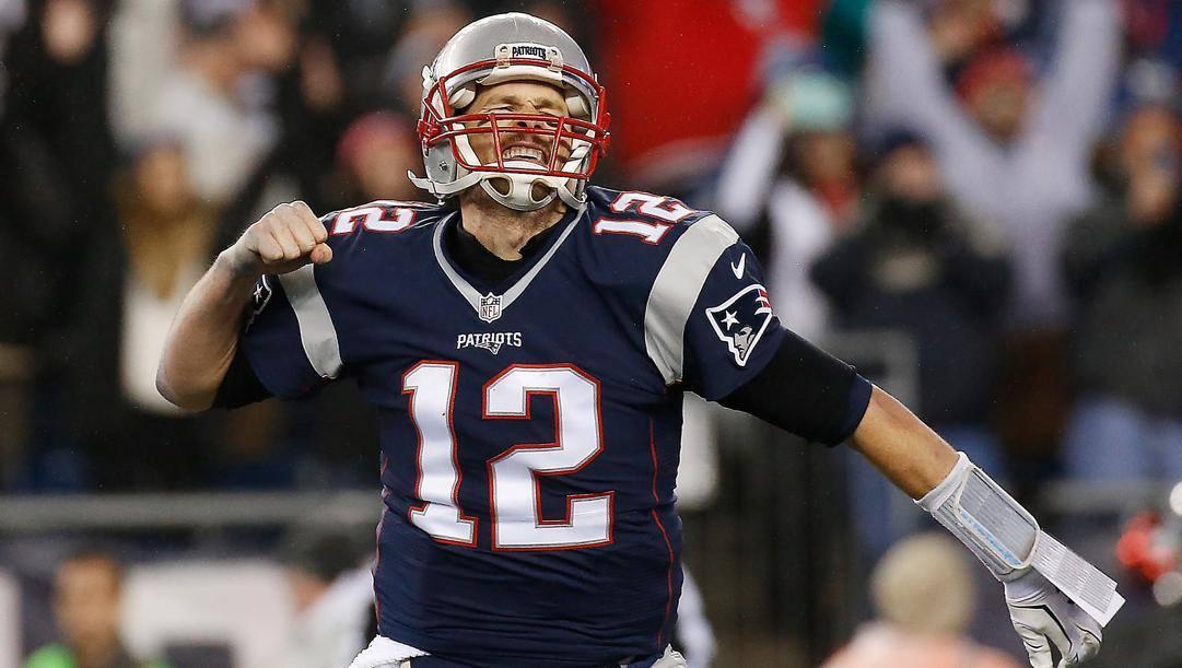 Tom Brady, 42 anni. Afp