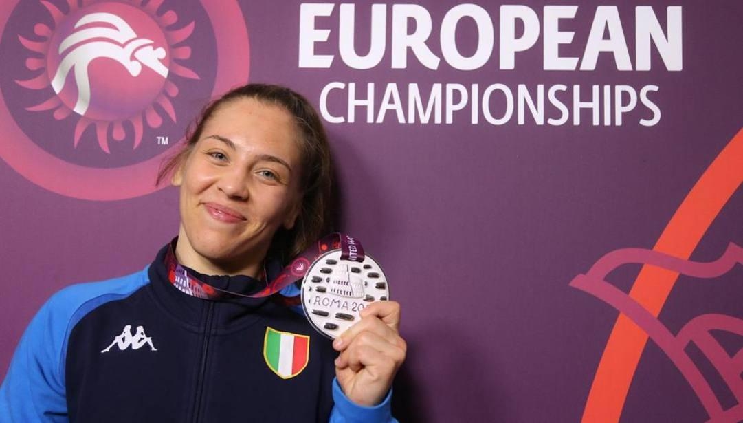 Dalma Caneva, vice campionessa europea nei -68 kg