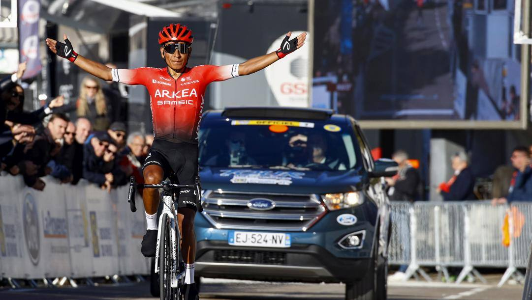 Nairo Quintana, 30 anni. Bettini
