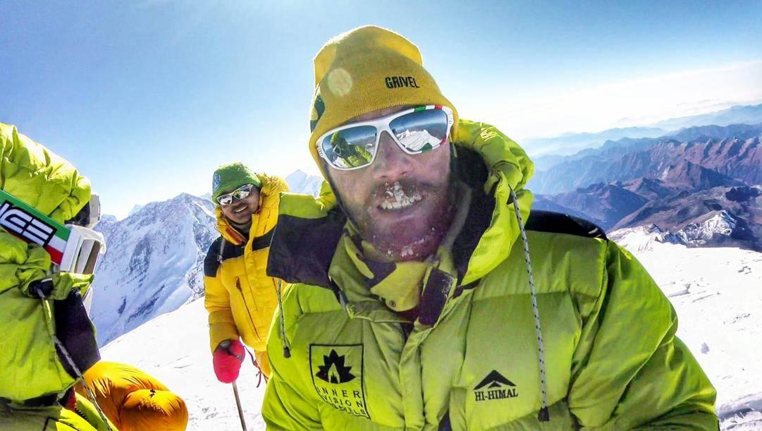 Andrea Landri sui monti