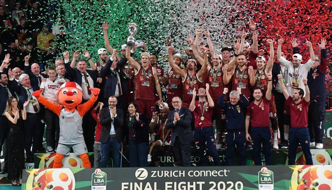 Dopo lo scudetto 2019, Venezia festeggia la Coppa Italia 2020. Ciam/Cast
