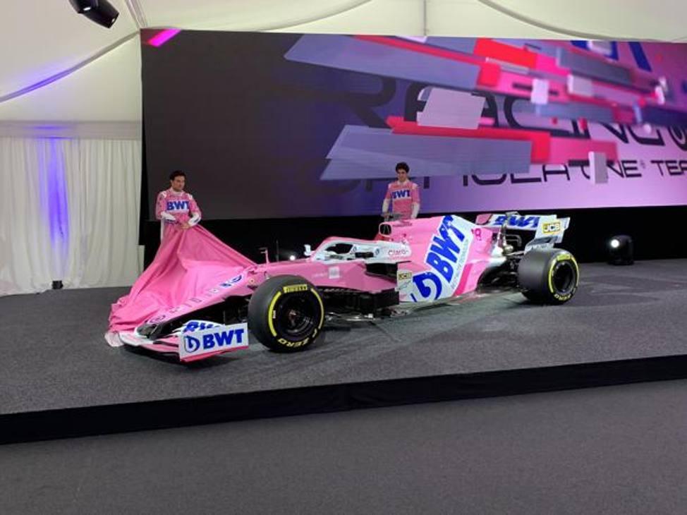 È stata presentata a Mondsee, in Austria, sede dello sponsor BWT la nuova Racing Point di Formula 1, la RP20 con cui Sergio Perez e Lance Stroll correranno il prossimo Mondiale