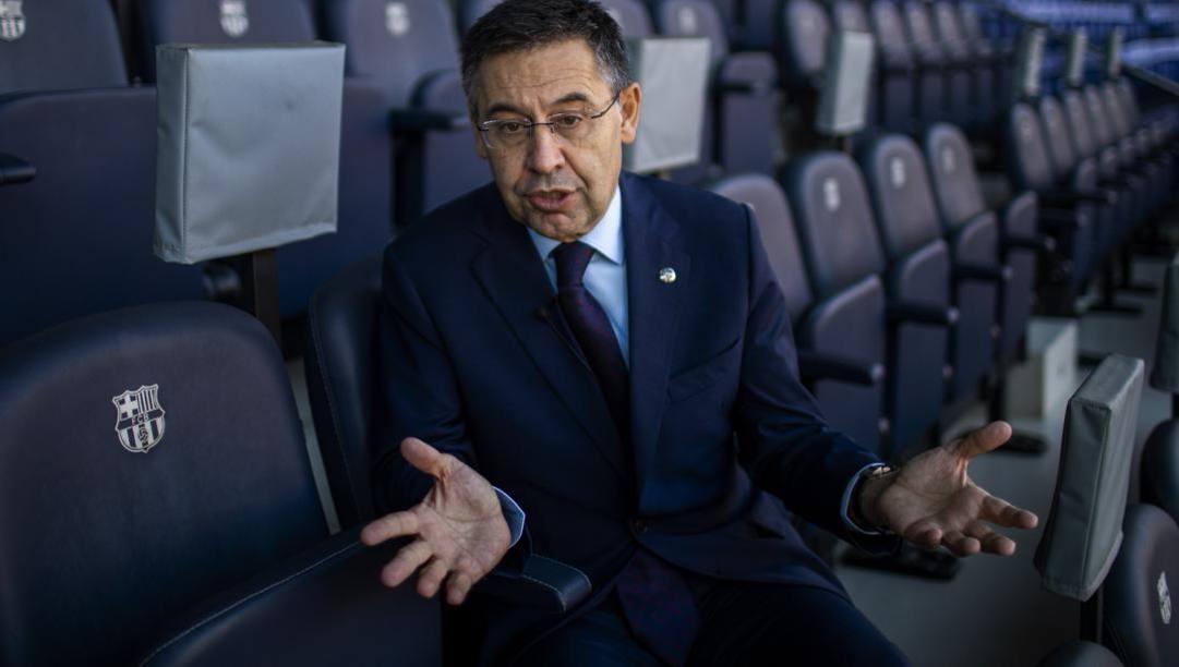 Josep Bartomeu, presidente del Barcellona. Ap
