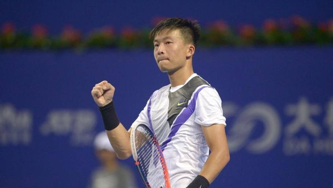 Di Wu, 28 anni, giocatore di riferimento del tennis cinese