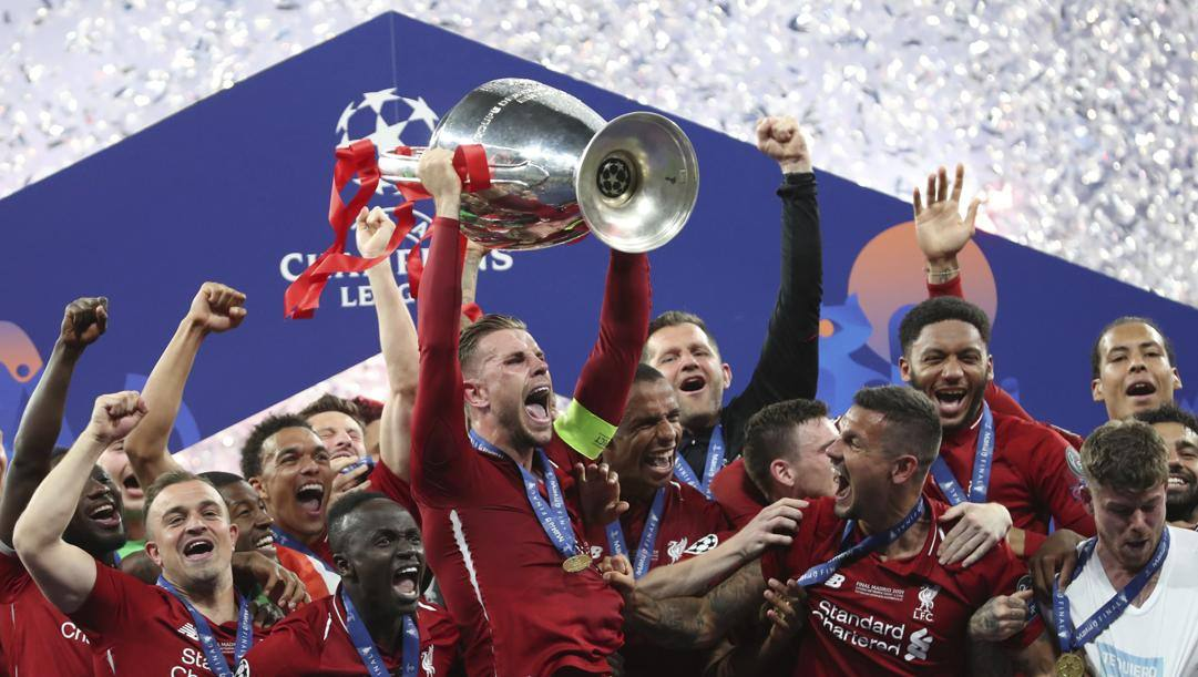 Il Liverpool campione d'Europa in carica. Ap