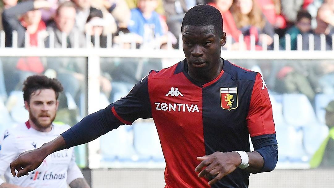 Adama Soumaoro, 27 anni, difensore del Genoa. LaPresse