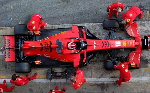 La Ferrari SF1000 di Charles Leclerc. Getty Images
