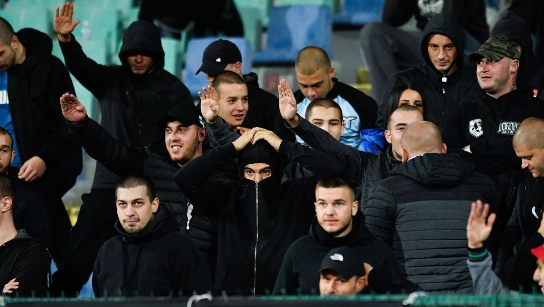 I comportamenti dei tifosi locali durante Bulgaria-Inghilterra dello scorso ottobre sono finiti nel mirino dell'Uefa. AFP
