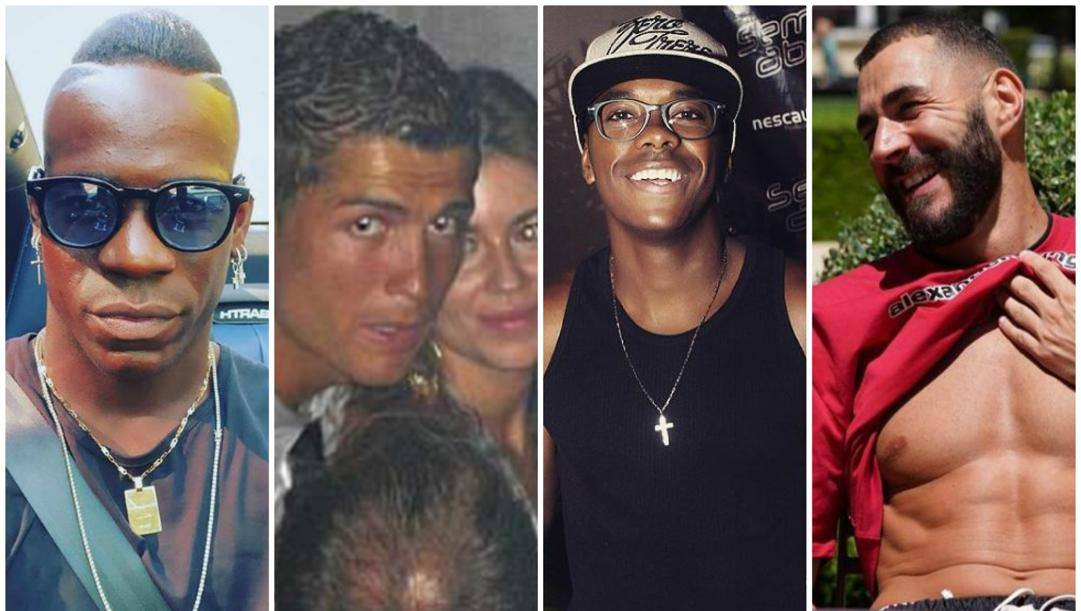 Balotelli, Ronaldo e la sua accusatrice, Robinho, Benzema.