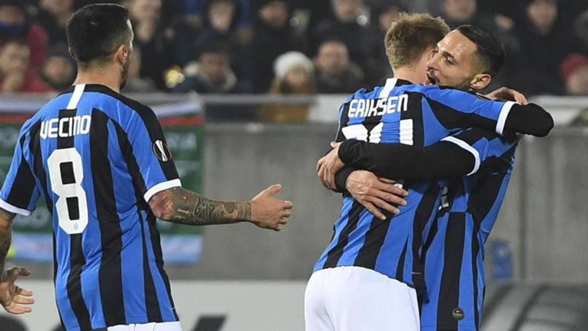 La prima perla di Eriksen illumina l'Inter: 2-0 in Bulgaria e ottavi vicini