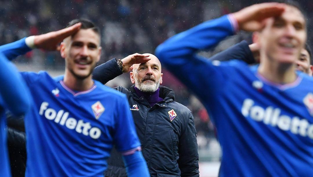 Stefano Pioli, 54 anni. Ansa