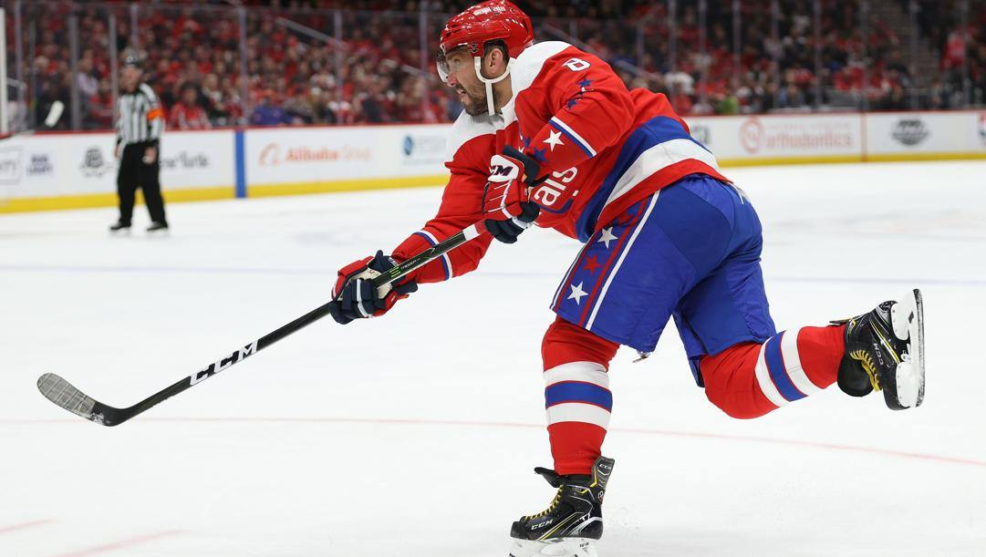 Alex Ovechkin, 34 anni, Washington Capitals. Afp