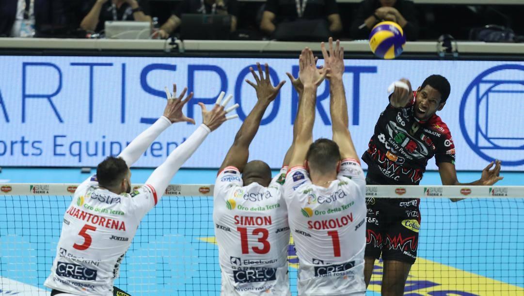 Coppa Italia Volley alla Lube Civitanova: Sir Safety Perugia ko 3-2