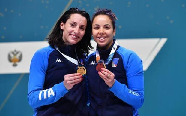 Elisa Di Francisca e Alice Volpi. Bizzi