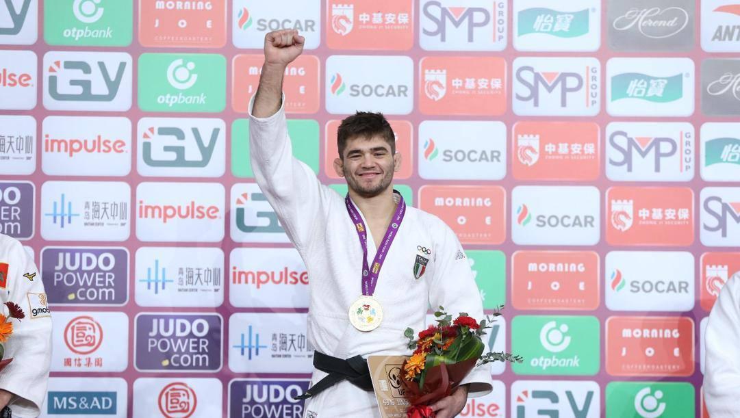 Manuel Lombardo vinse l'oro ai Masters di Quingdao