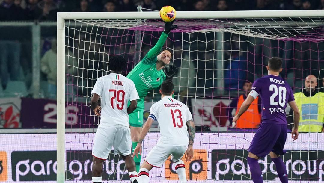 Asmir Begovic, 32 anni. Lapresse