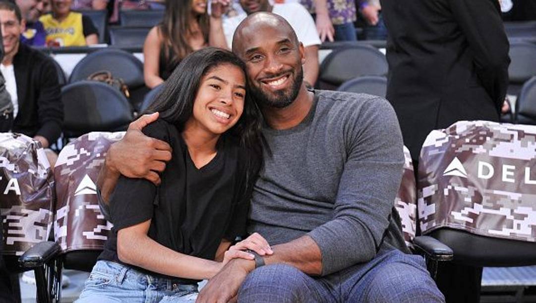 Gianna e Kobe Bryant. Getty Images